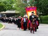 Graduation procession