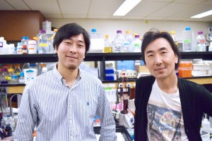 Dr. Yoshihito Kano (left) and Professor Michael Ohh